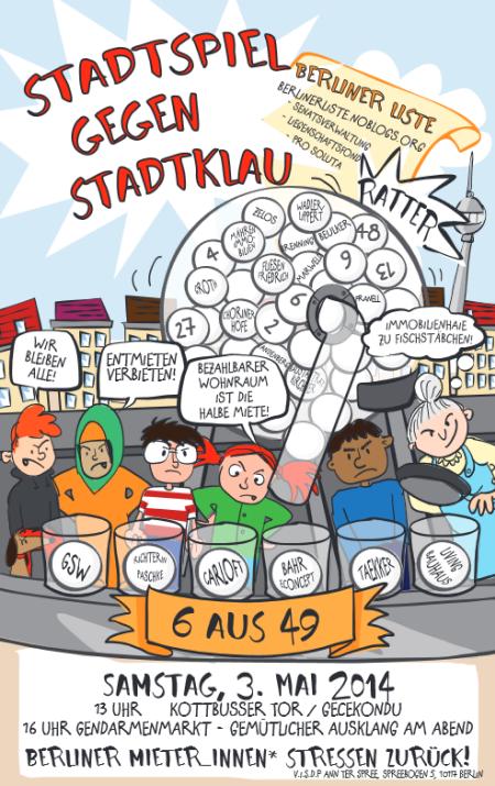 Stadtspiel gegen Stadtklau am 3. Mai 2014