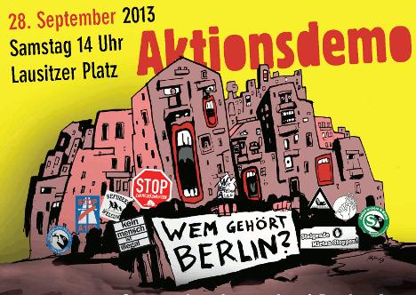 Demo Berlin 28.9.2013