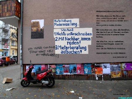 Fotocollage: Mieterneujahrswünsche 2012