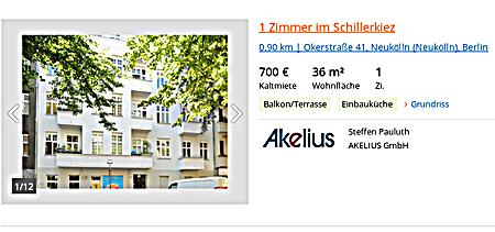 Akelius Wuchermieten im Schillerkiez
