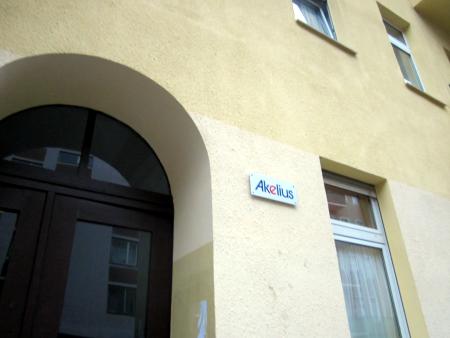 Akelius Immobilien Werbung