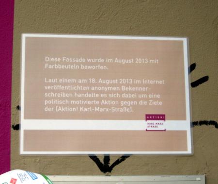 Gedenktafel Aktion KMS
