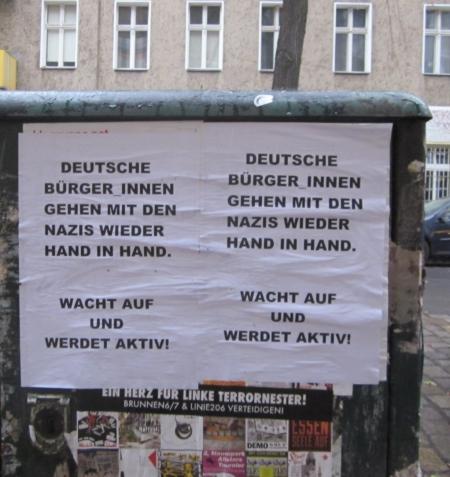 Wacht auf gegen Nazis