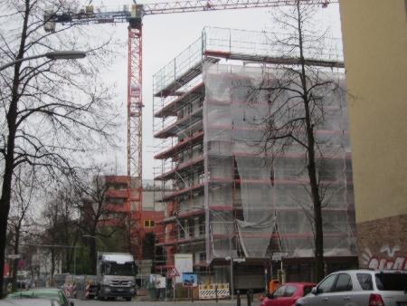 Ausbauhaus Neukölln Baugruppe Dez. 2013