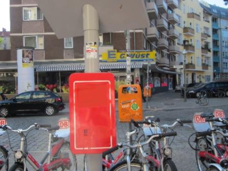 DB Fahrradverleih Herrfurthplatz