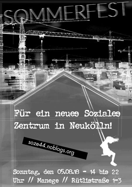 Sommerfest Soziales Zentrum Neukölln