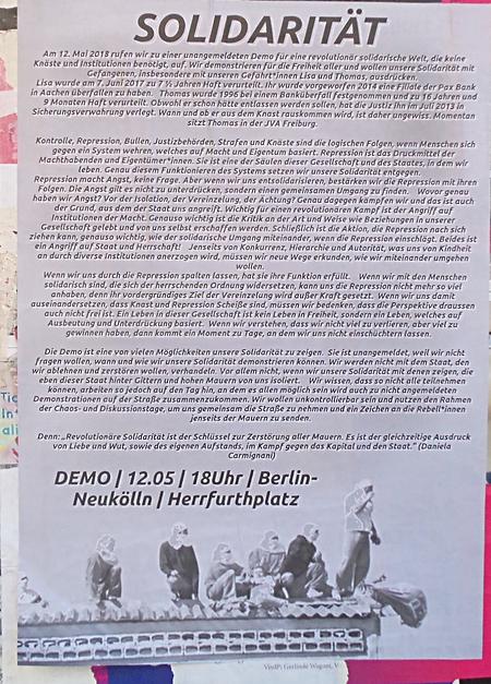 Demo Solidarität 12. Mai