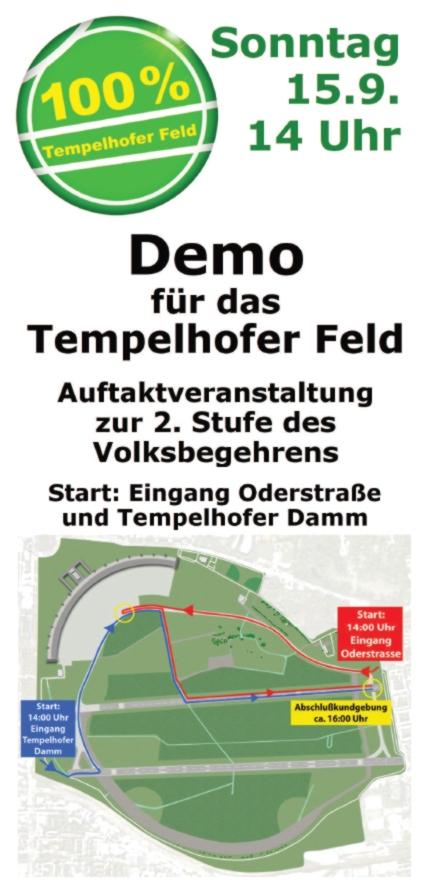 Demo Tempelhofer Feld 15.9.2013