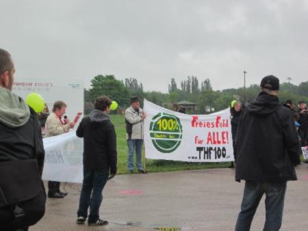 Demo Tempelhofer Feld 26. Mai 2013