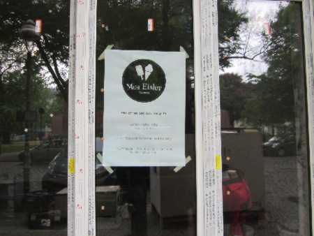 Eisladen statt Kunstladen Herrfurthplatz