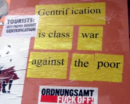 Gentrification is class war