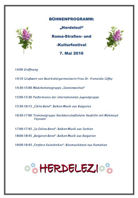 Herdelezi-Fest 2016