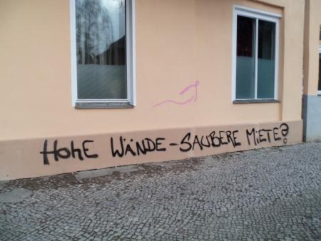 Hohe Wände saubere Miete