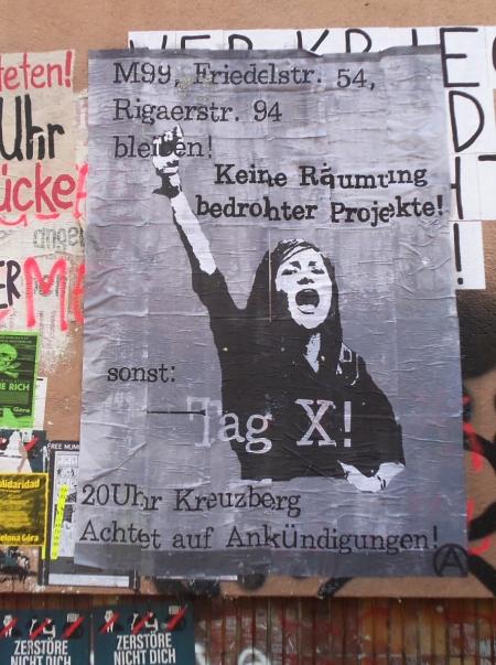 Infowand Schillerkiez Keine Räumung