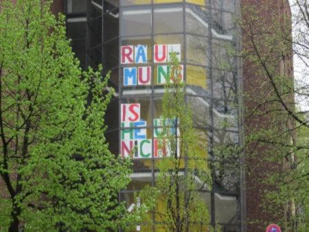 Keine Zwangsräumung Stadt und Land April 2013