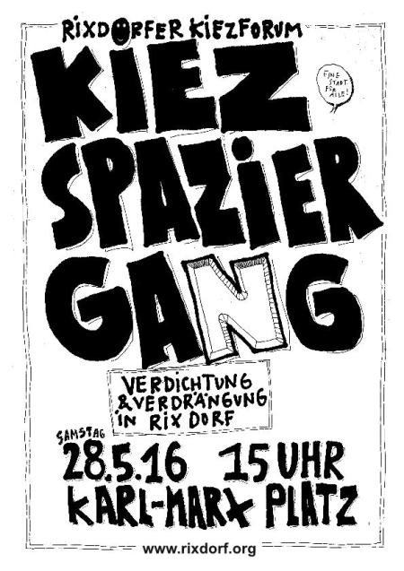Kiezspaziergang Rixdorf 28. Mai 2016