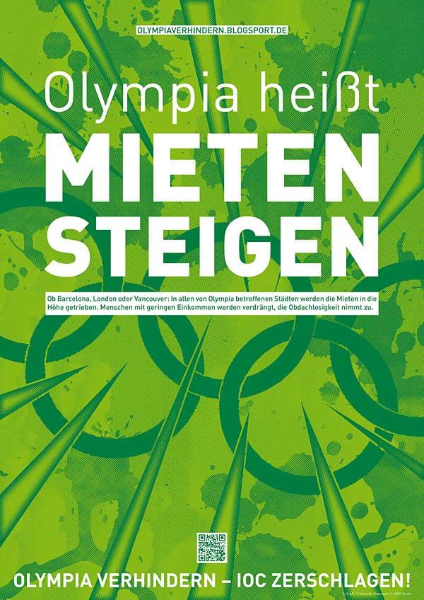 Olympia heisst steigende Mieten