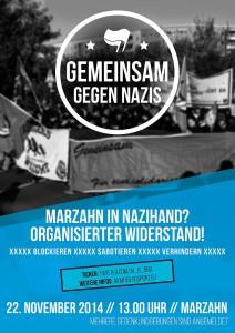 Nazis in Marzahn blockieren
