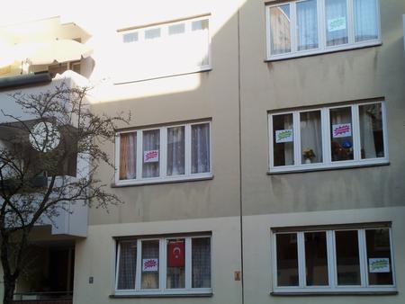 Protest Manitiusstrasse Neukölln