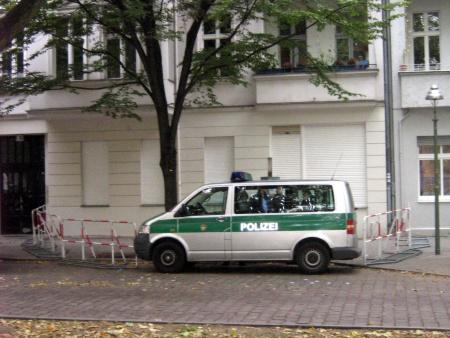 QM unter Polizeischutz