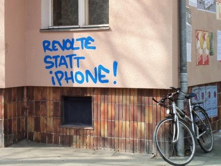 Revolte statt iPhone