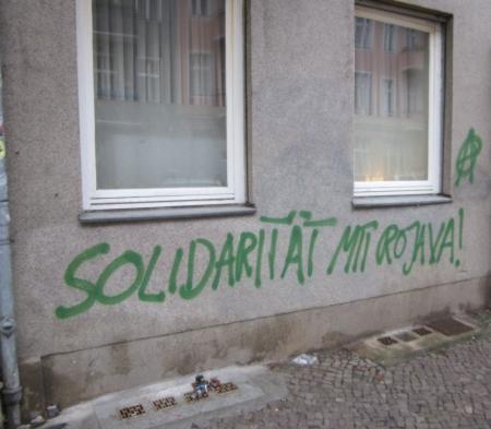 Solidarität mit Rojava