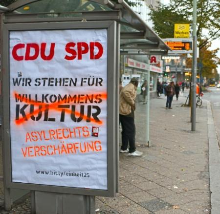CDU und SPD für Asylverschärfung