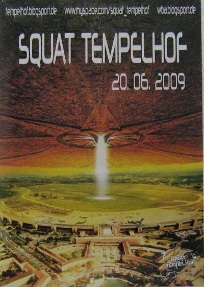 Squat Tempelhof 2009