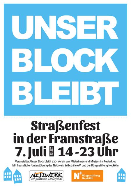 Strassenfest 7. Juli 2018