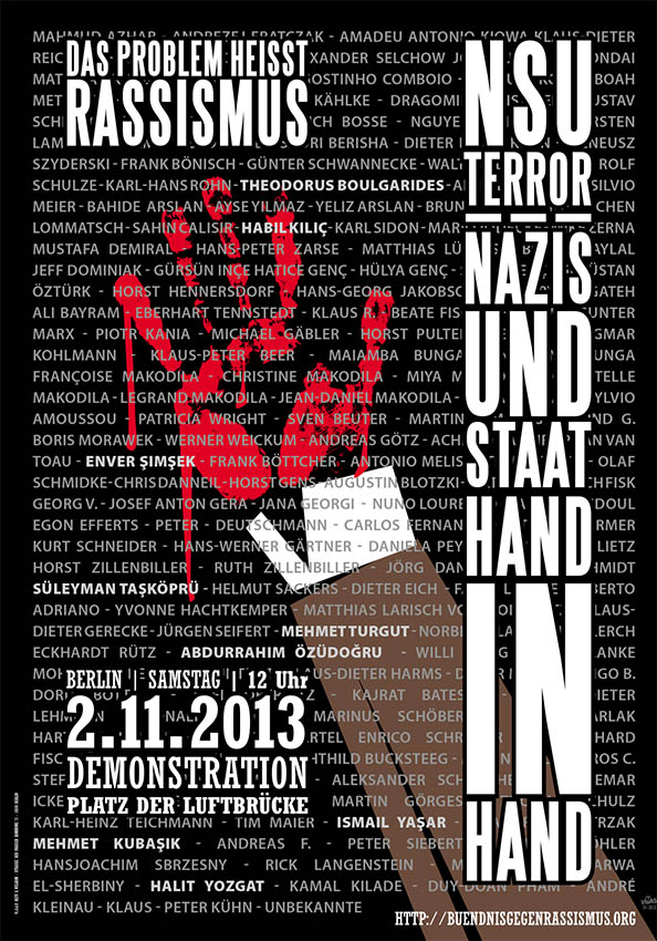 Demo gegen Rassismaus