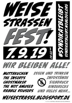 Weisestrassenfest