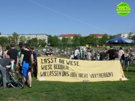 Tempelhofer Feld : Die Wiese soll bleiben
