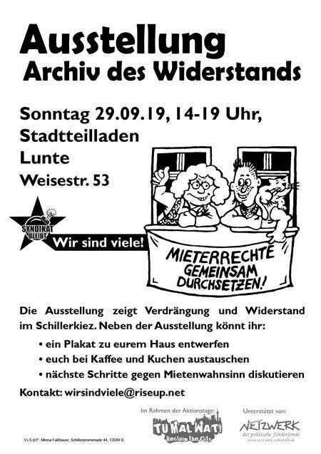 Ausstellung Schillerkiez