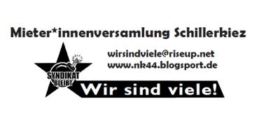 Logo Mieter*innenversammlung Schillerkiez