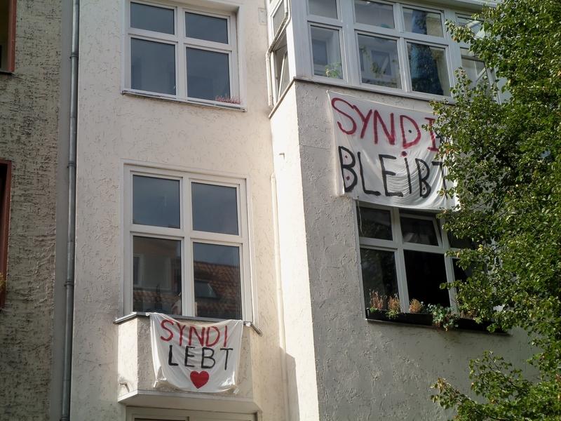 Syndikat Lebt - Transparente Weisestrasse