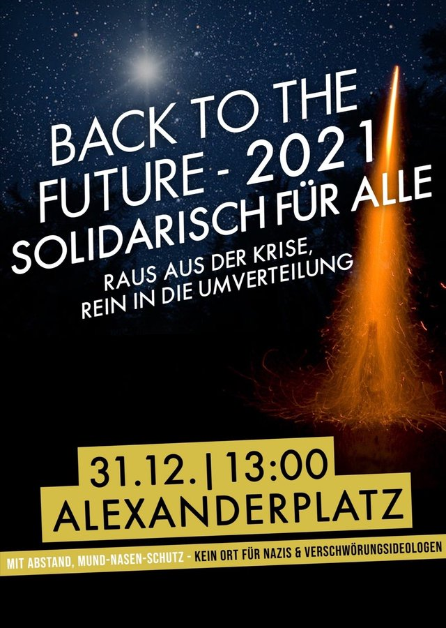 Back to the future / 2021 solidarisch